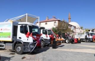 Gürpınar Belediyesi, araç filosunu güçlendirdi