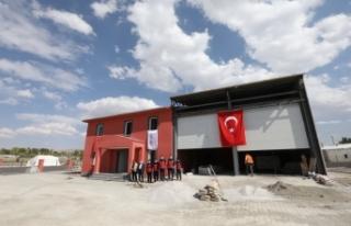 Van'da ilçe itfaiye amirliği binaları yenileniyor