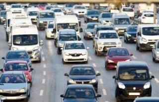 Van'da, trafiğe kayıtlı araç sayısı 77...