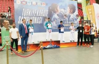Van Karate Şampiyonası'nda Türkiye dördüncü...