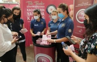 Van polisi kadınları KADES hakkında bilgilendirildi