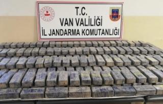 Van'da 295 paket eroin ele geçirildi