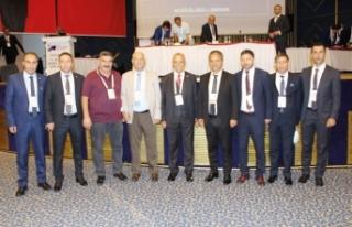 Vanlı hakem ve gözlemciler, Ankara'daki kongreye...