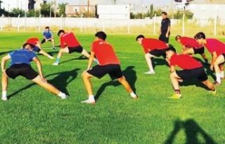 Vanspor alt yapı sporcuları çalışmalarını sürdürüyor