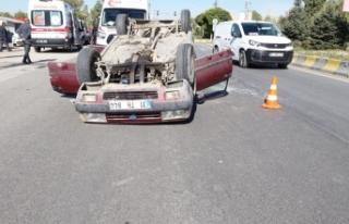 Erciş'te otomobiller çarpıştı: 8 yaralı