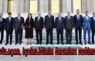 Gülaçar, Tacikistan ve Türkiye arasındaki ticari...