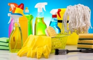Temizlik malzemeleri satın alınacak
