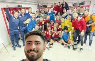 Vanspor'lu futbolcular galibiyeti değerlendirdi