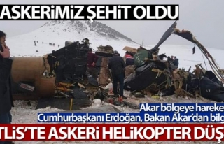 Askeri helikopter düştü: 11 şehit, 2 yaralı...