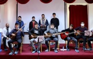 İpekyolu'nda gençlik korosunun provaları başladı...