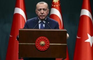 Erdoğan'dan, yeni kısıtlama  açıklaması...