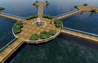 İpekyolu'nda sahil bandı projesi başladı