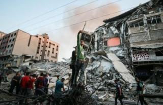 İsrail'in saldırılarında şehit sayısı...