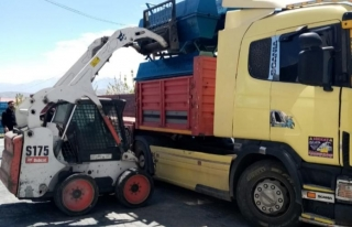 Büyükşehir, kırsalda sac sıvat desteğini sürdürüyor