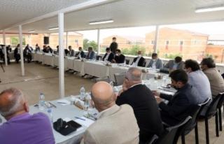 Kent Danışma Kurulu toplantısında vizyon projeler...