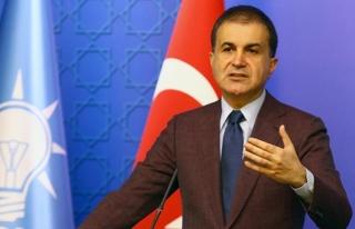 AK Parti Sözcüsü Ömer Çelik'ten Avrupa Birliği'ne...