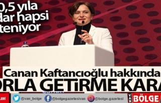Canan Kaftancıoğlu hakkında zorla getirme kararı