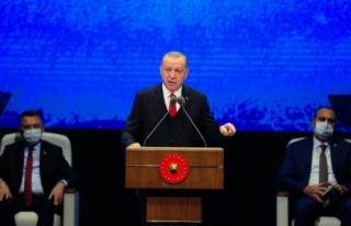 Erdoğan: '17 bin operasyon gerçekleştirdik'