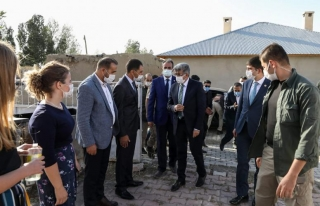 Vali Bilmez, Gürpınar'daki çalışmaları yerinde...