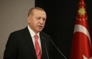 Erdoğan'dan, Lübnan Cumhurbaşkanı'na geçmiş...