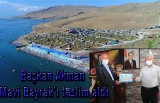 Tuşba'daki plaj üçüncü kez 'mavi bayrak' almaya...