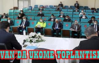 Van'da UKOME toplantısında yeni kararlar alındı