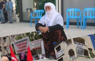 HDP, gözü yaşlı anneyi görmezden geldi