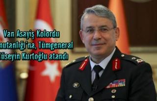 Van Asayiş Kolordu Komutanlığı'na Tümgeneral...