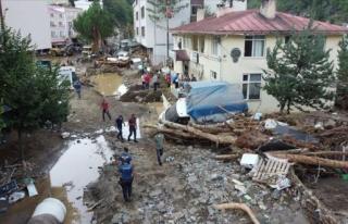 AFAD: Giresun'da 157 vatandaşımız kurtarıldı