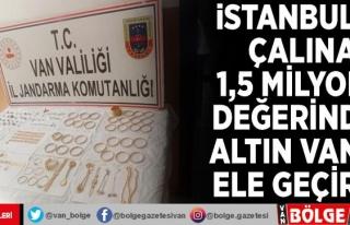 İstanbul'da çalınan 1,5 milyon TL değerindeki...
