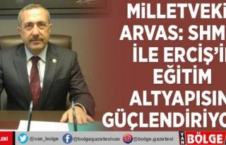 Milletvekili Arvas: SHMYO ile Erciş'in eğitim...