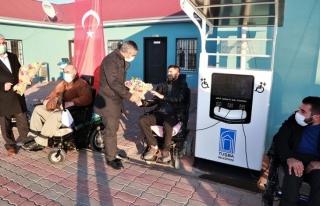 Tuşba Belediyesi'nden 'Engelliler Günü' Etkinliği