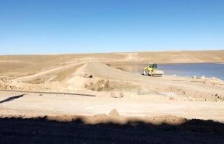 Özalp ilçesinde baraj çalışması sürüyor