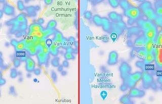 Van'da koronavirüs hasta sayısı azaldı...