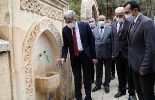 Bahçesaray Kartal Mahallesi'ndeki 50 yıllık su...