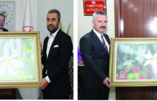Başkan Say'dan, Aslan ve Karabağ'a ziyaret...