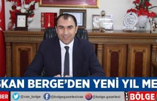 Başkan Berge'den yeni yıl mesajı