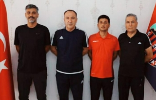 Vanlı Kaleci Antrenörü Mardin'de…