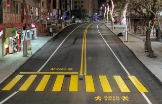 Van'da iki cadde daha tamamen yenilendi