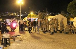 Çadır kentlerde yaşam mücadelesi sürüyor