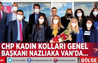 CHP Kadın Kolları Genel Başkanı Nazlıaka Van'da…