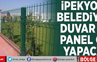 İpekyolu Belediyesi duvar ve panel çit yapacak