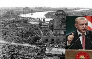 Erdoğan'dan Hiroşima mesajı: Bir daha asla!