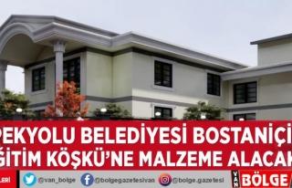 İpekyolu Belediyesi Bostaniçi Eğitim Köşkü'ne...