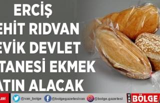 Erciş Şehit Rıdvan Çevik Devlet Hastanesi ekmek...