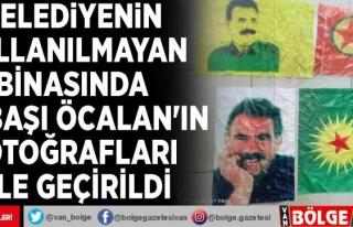 Belediyenin kullanılmayan binasında elebaşı Öcalan'ın...