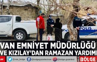 Van Emniyet Müdürlüğü ve Kızılay'dan Ramazan...