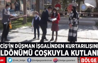 Erciş'in düşman işgalinden kurtarılışının...