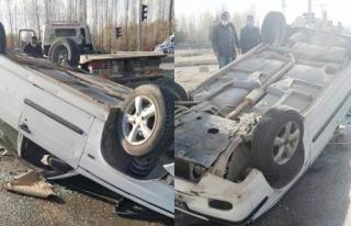 Erciş'te trafik kazası, yaralılar var