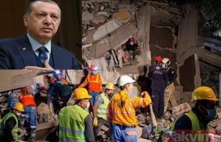Liderlerden Cumhurbaşkanı Erdoğan'a 'geçmiş olsun'...
